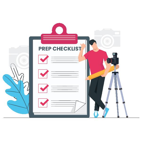 Checklist property prep
